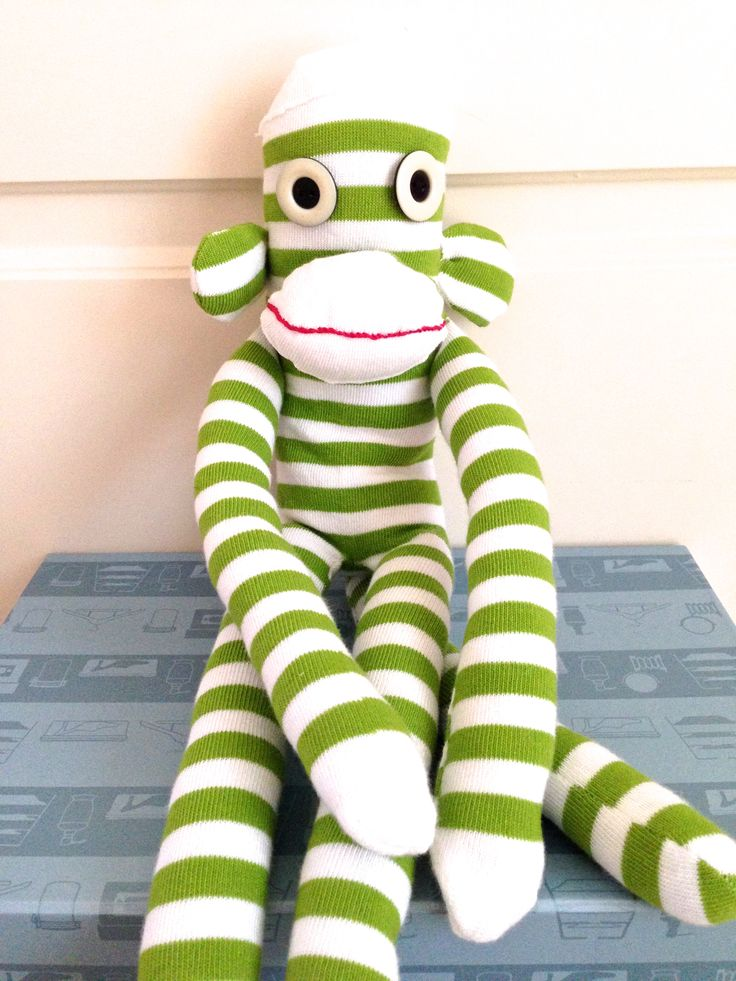 Sock Monkey.   Follow us on Facebook www.facebook.com/ck.kreations
