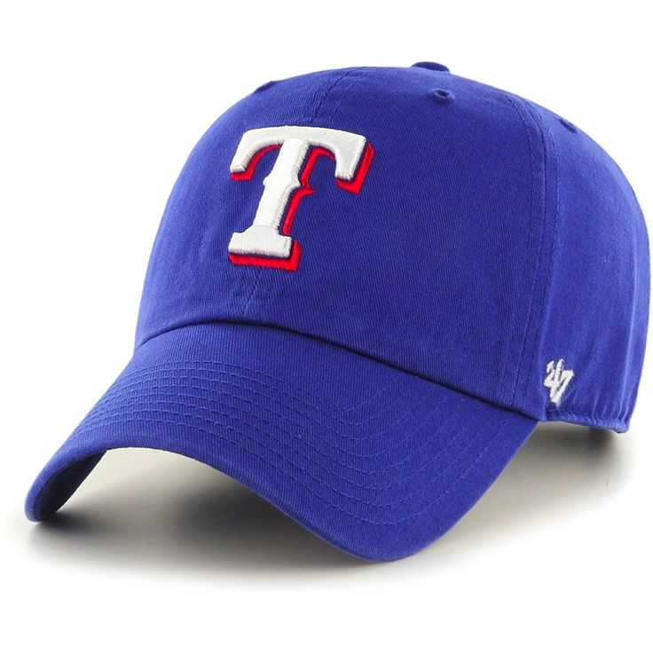 '47 Brand Texas Rangers Royal Clean Up Hat