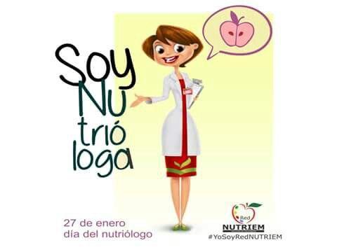 27de enero, dia del Nutriologo! :)