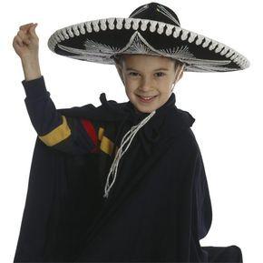 Cómo hacer un sombrero mexicano para niños