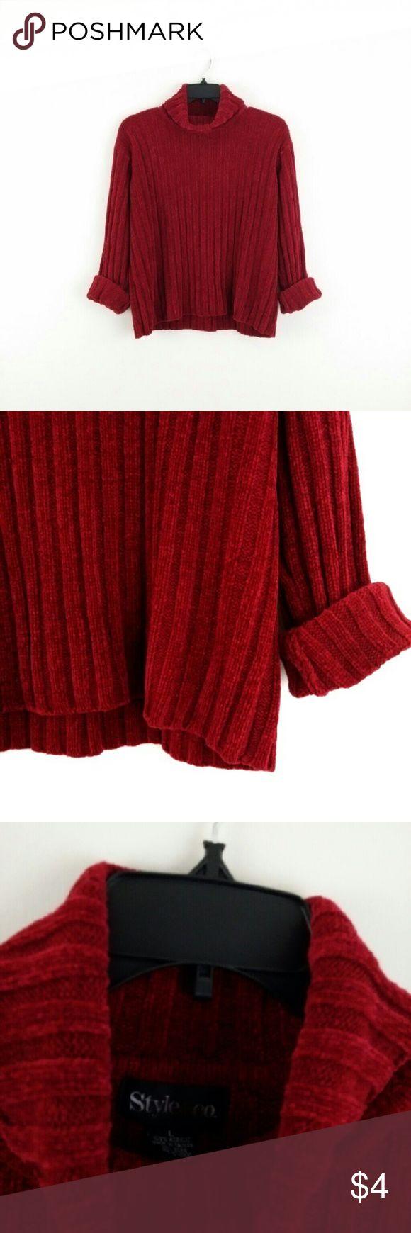 30% off 2+ Bundle - New! Chenille Cozy Sweater 30% off 2+ Bundle   ***I ship Monday/Wednesday/Friday Style & Co Sweaters Cowl & Turtlenecks