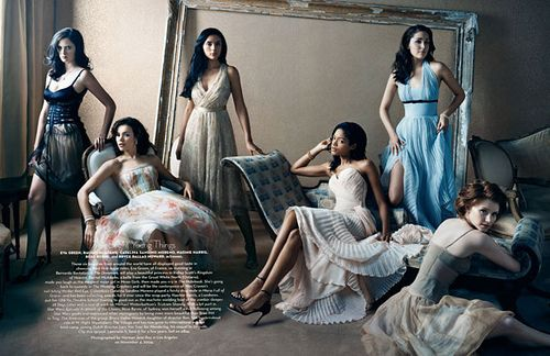 BOUDOIR STYLE DRESSES - GROUP PHOTO SESSION Hollywood Issue - Vanity Fair by VillaniProductions, via Flickr