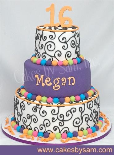 Idea For Dance Cakes