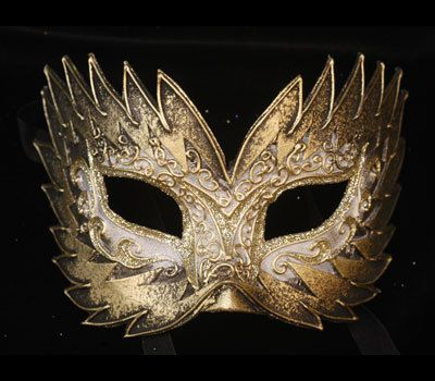 Original and Traditional Venetian Mask Flash by AtelierMaregaMask