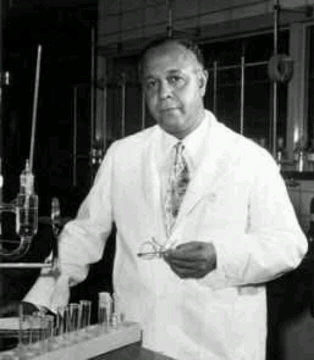 African American research chemist Percy Julian was a pioneer in the chemical synthesis of medicinal drugs such as cortisone and steroids. He is one of the first African Americans to receive a Ph.D in chemistry. Julian led research that resulted in the mass production of hormones which led to widely available birth control. He was also a active fundraiser for the NAACP.