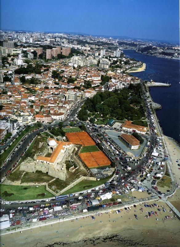 FOZ DO DOURO Foz, vista aérea