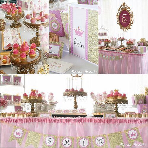 Mesa dulce princesas Merbo Events