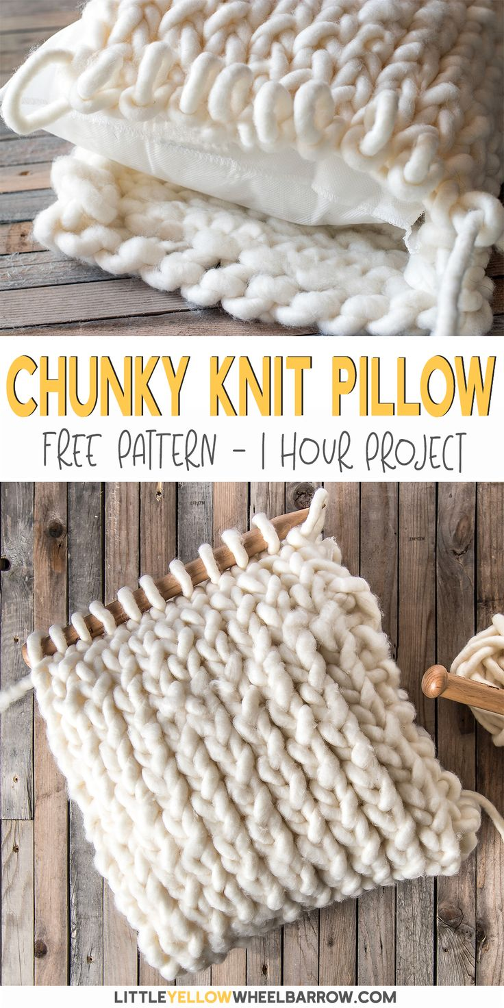 This Free Knitting Pattern Is Easy Enough For Total Beginners