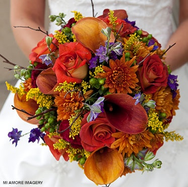 Perfect for early fall wedding