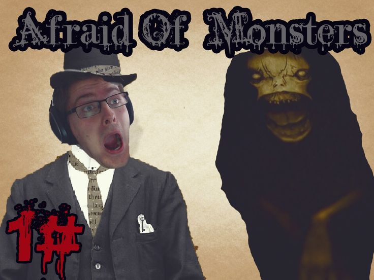 Classic Horror - Afraid Of Monsters 1#