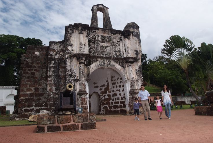 A Famosa is a Portuguese fortress located in Malacca, Malaysia. It is among the oldest surviving European architectural remains in south east Asia.