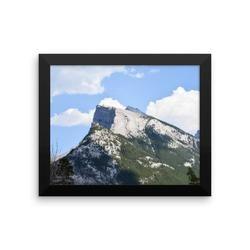 Framed photo paper poster: Rockey Mountain High, Alberta
