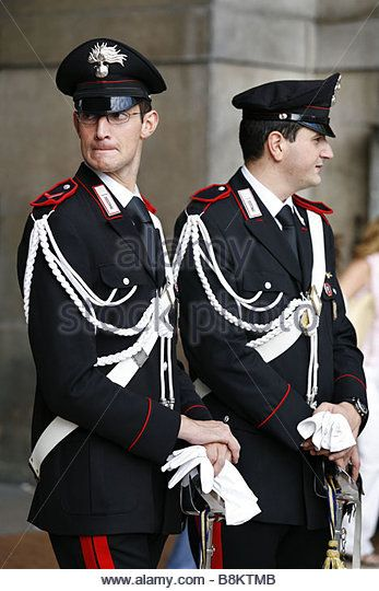 Carabinieri, Milan, Lombardy, Italy - Stock Image