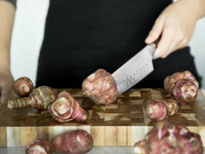 Topinambur zubereiten – geh der Knolle an den Kragen