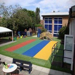 Playground Safety Surfacing in Gwynedd 5