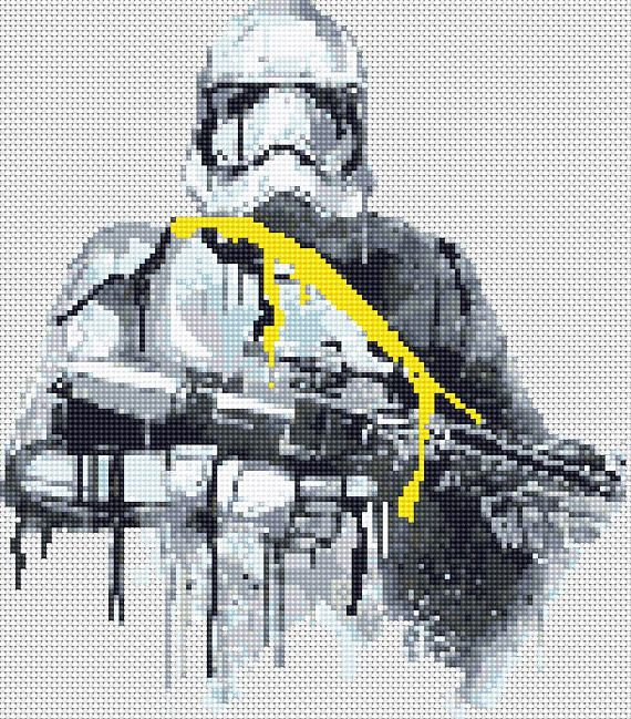 Star Wars Cross Stitch Pattern Printable PDF Embroidery