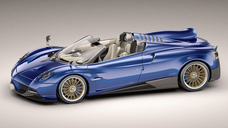 The new Pagani Huayra Roadster (Credit: Pagani)