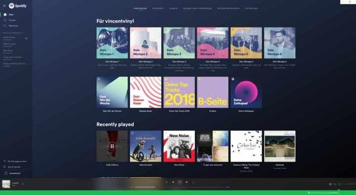 Xpotify Alternative App Fur Spotify Unter Windows 10 App Apps Und Alternativ
