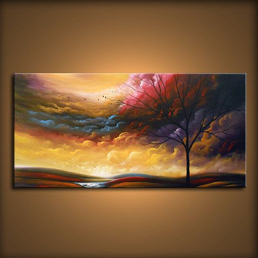 art abstract painting canvas wall art xl canvas oil by mattsart, $425.00