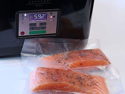 Dos de saumon, cuisson basse température - 9