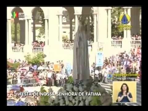 Missa de Nossa Senhora de Fátima - Portugal - 13/05/2013