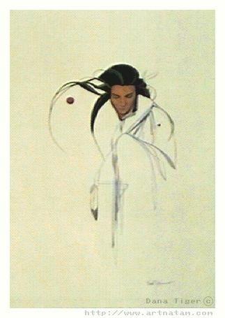 "American Indian Artist Dana Tiger - ""Gathering Strength."" Beautiful simplicity."