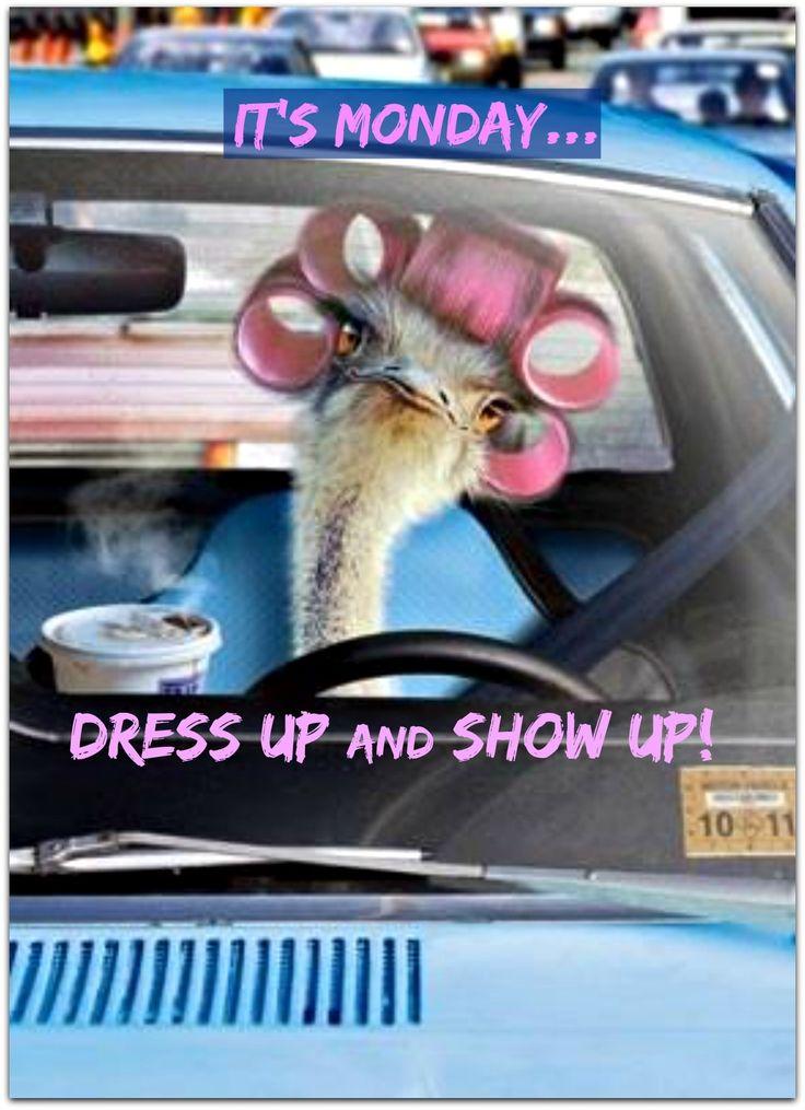 Always show up...