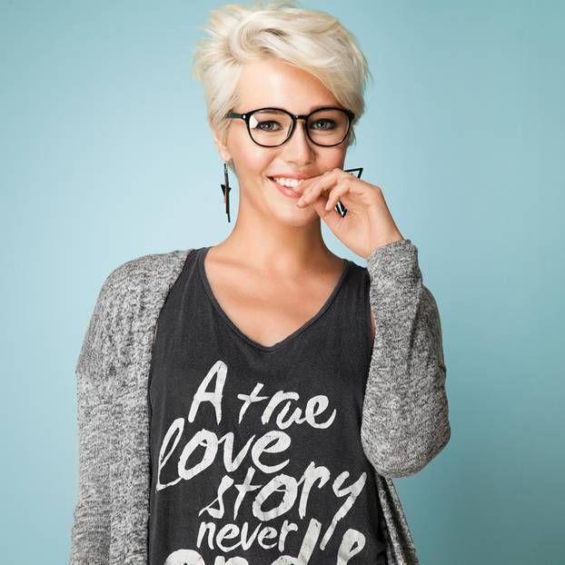 Die Schönheit Mit Brille