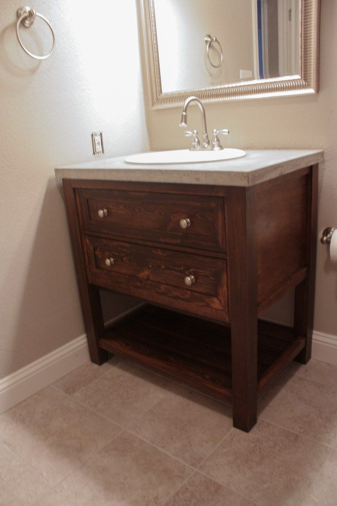 2969 best images about project plans free on pinterest for Master bathroom vanity single sink