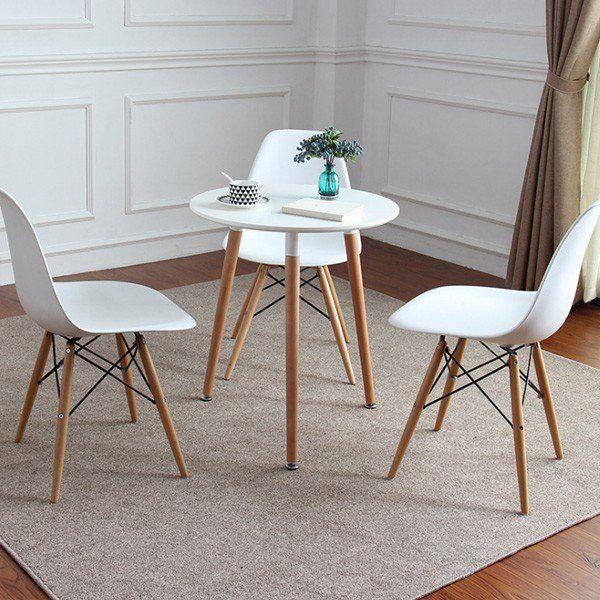 イームズ テーブル 丸テーブル 白 60cm ダイニングテーブル テーブル カフェテーブル ティーテーブル 1人 2人 北欧 Pp0000051 ベストシャレ 通販 Yahoo ショッピング イームズ テーブル カフェ テーブル ダイニング