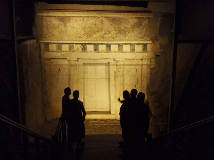 King Phillip II Tomb, Vergina Museum, Imathia, Greece