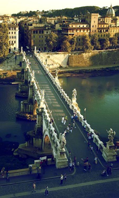 pont des Anges Rome *Italie