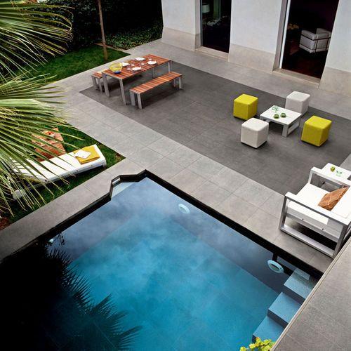 Baldosa para playa de piscina / de interior / para pavimento / de gres porcelánico BASALTINA STONE PROJECT : NATURALE LEA CERAMICHE