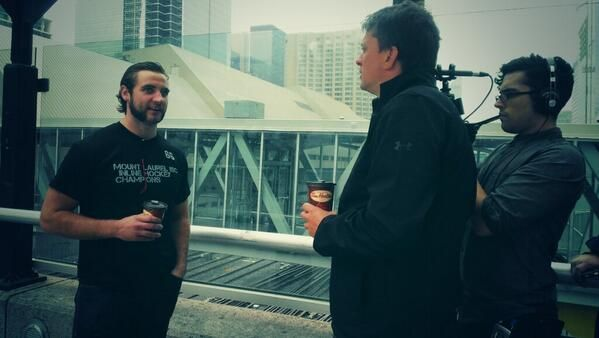 Todd Crocker has a coffee chat with T.J. Brennan. Check it out soon on LeafsTV!