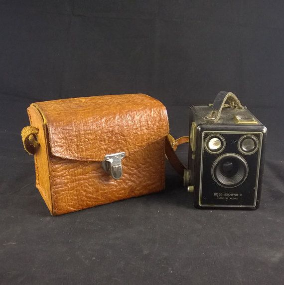 Kodak Six-20 Brownie C  Vintage Photography  by SmalandVintage