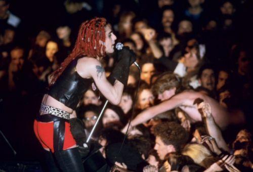 Perry Farrell- Jane's Addiction, 1989, Fillmore Auditorium ( S. Francisco)  Ron Delany