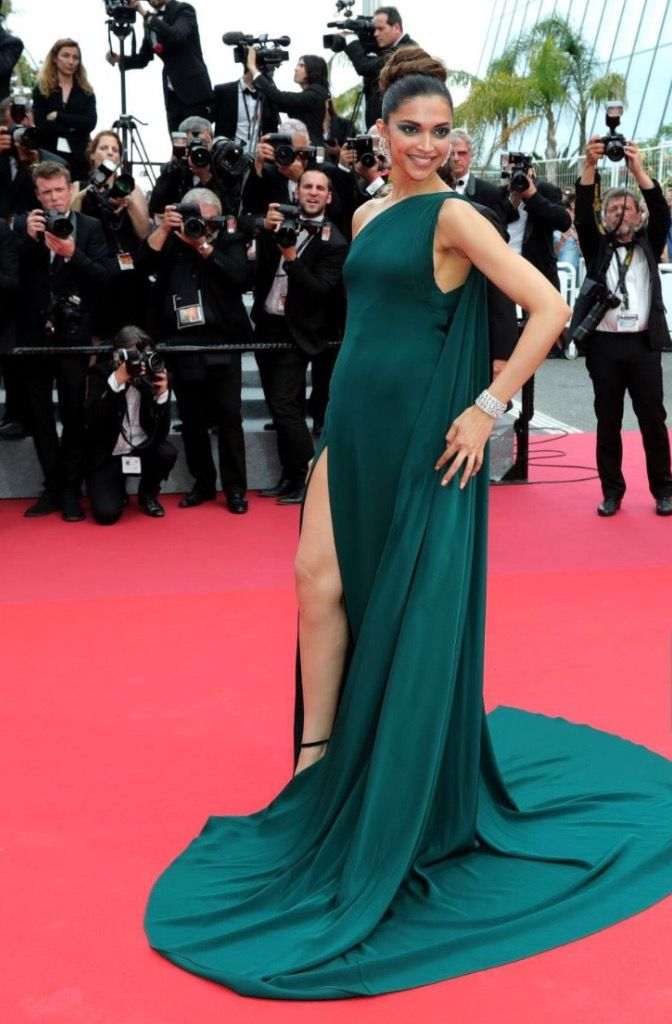 Deepika Padukone's second red carpet look at Cannes film Festival 2017