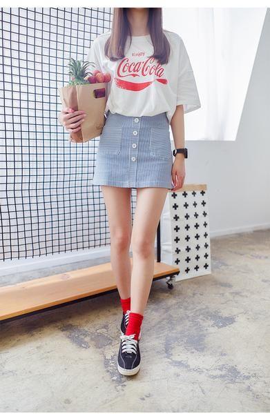 Korean fashion A skirt - AddOneClothing - 1