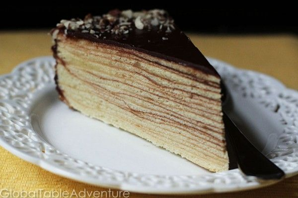 German Tree Cake (Baumtorte/Baumkuchen)  So excited to find the recipe- had this in Germany and it is incredible!