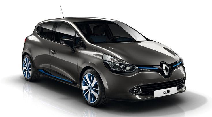Clio gris cassiopée et bleu. Et si vous faisiez un tour en Renault Clio ? C'est gratuit ! Réservez un essai près de chez vous >> http://ma-voiture-par-internet.com/essai-gratuit-clio4-renault.php