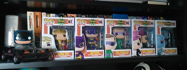 I didn't realize there was a second series of Batman '66 Funkos! Now I'm not only irresponsible, but poor, too. lol  I love them though.  (Chris Olivier) #Batman #dccomics #superman #manofsteel #dcuniverse #dc #marvel #superhero #greenarrow #arrow #justiceleague #deadpool #spiderman #theavengers #darkknight #joker #arkham #gotham #guardiansofthegalaxy #xmen #fantasticfour #wonderwoman #catwoman #suicidesquad #ironman #comics #hulk #captainamerica #antman #harleyquinn