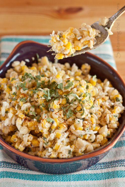Esquites Mexican Corn Salad - The side dish of the summer. A hot ...