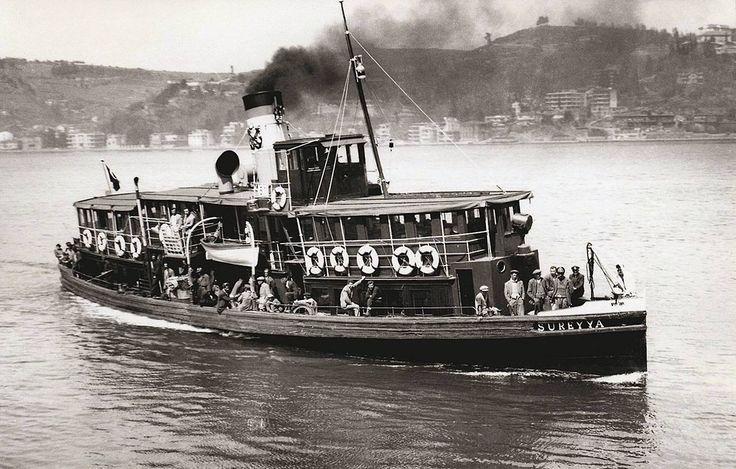 BOĞAZİÇİ MEDENİYETİ - Süreyya Vapuru - İstanbul - 1950