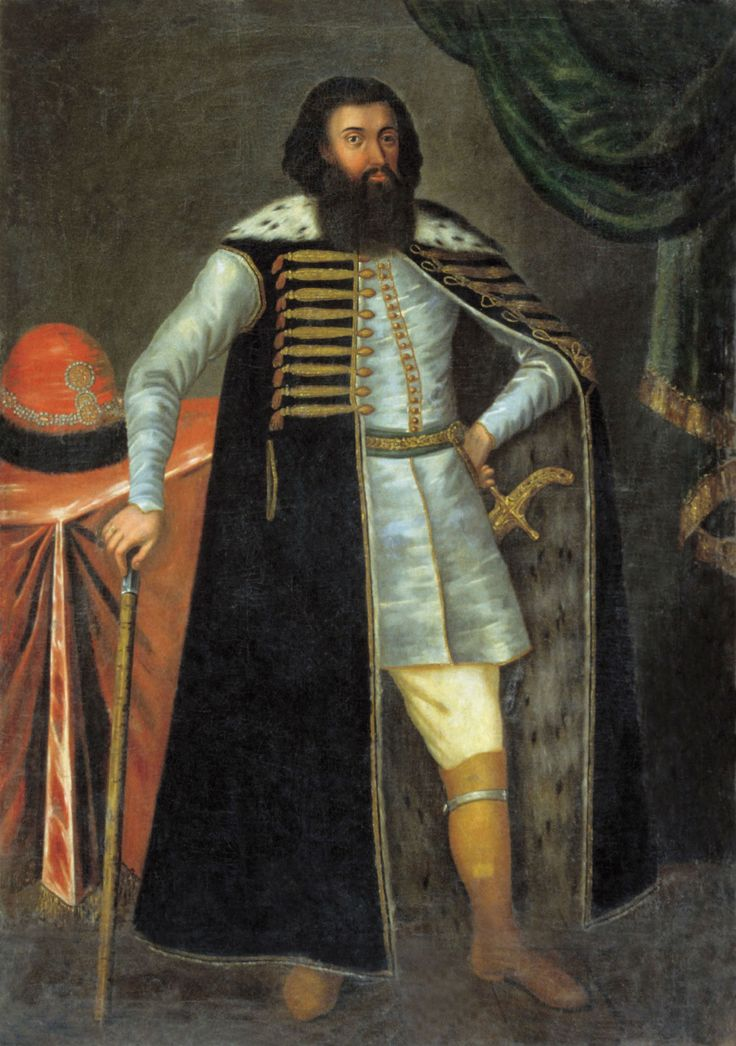 . Unknown artist. Prince Ivan Borisovich Repnin. The second half of the XVII-th century.