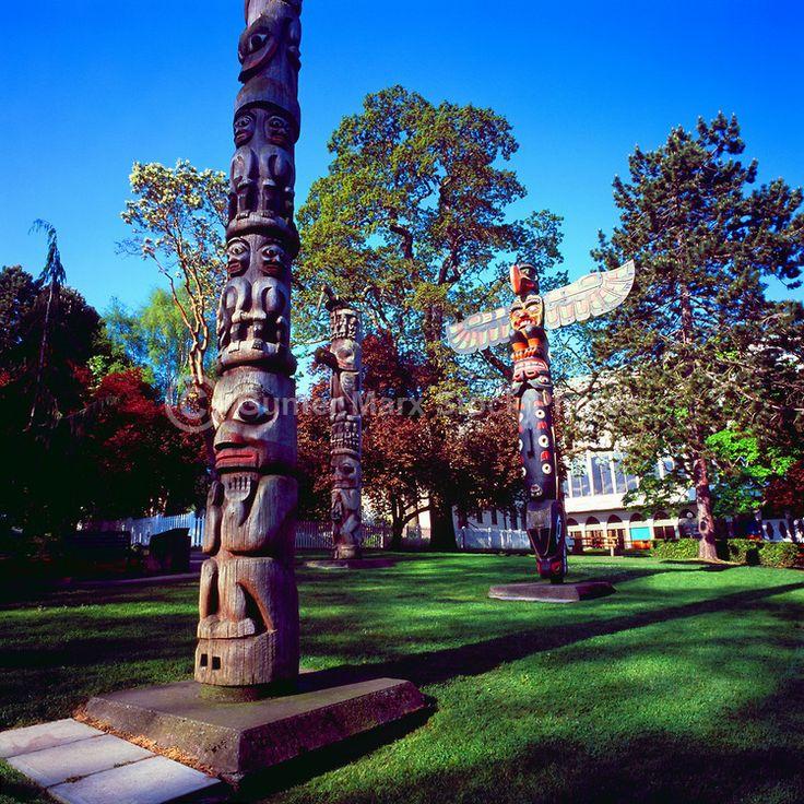 Victoria, BC - Totem Poles