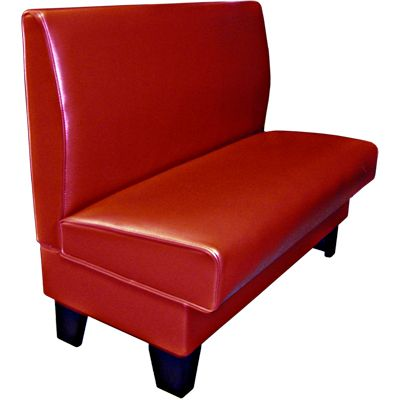 Bulldog Single Upholstered Restaurant Booth AS-36B from $185.99