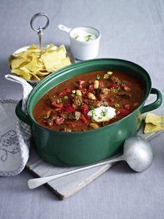 Unser beliebtes Rezept für Chili-Rindfleisch-Topf und mehr als 55.000 weitere kostenlose Rezepte auf LECKER.de.