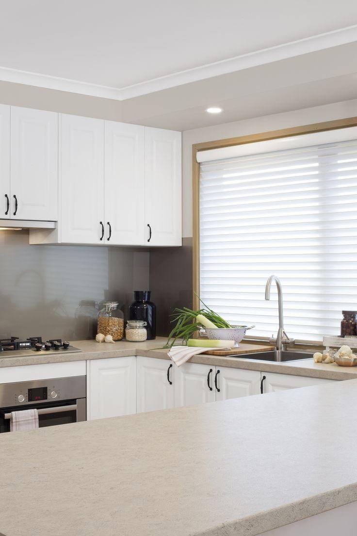 flat pack kitchens inspiration - heritage charm laminate benchtop