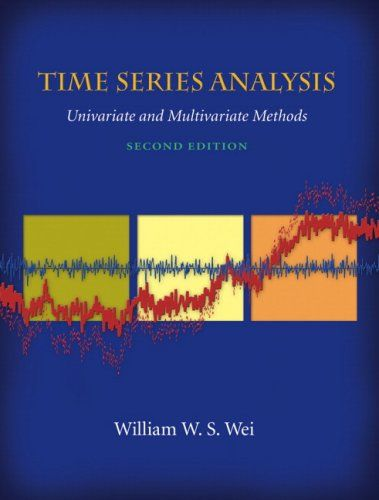 Bestseller Books Online Time Series Analysis : Univariate and Multivariate Methods (2nd Edition) William W.S. Wei $69.17  - http://www.ebooknetworking.net/books_detail-0321322169.html