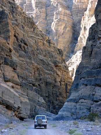 Spectacular drive of Titus Canyon... scary or fun? Take a peek at this trip to Death Valley National Park, camping or in your RV, we've mapped it all out for you!